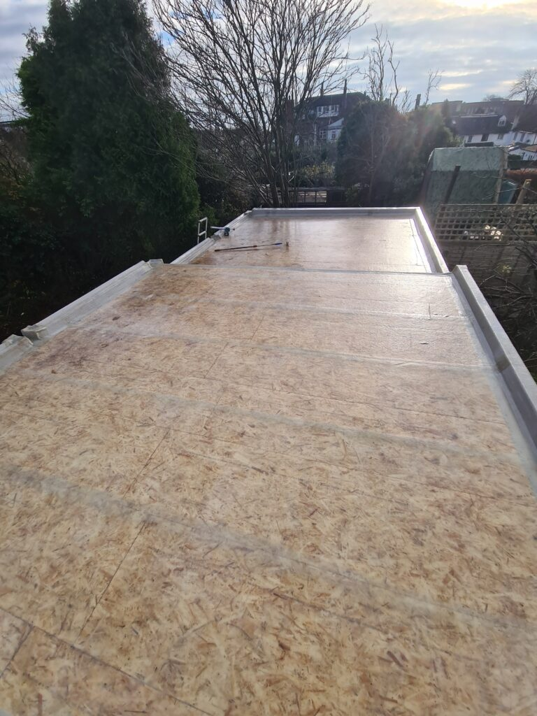 GRP roofing in Leeds and Kippax
