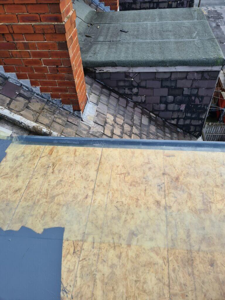 Felt roofing in Leeds