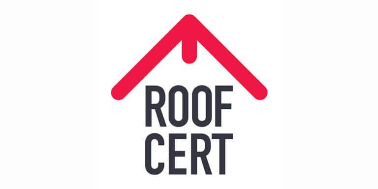Roofcert logo for felt roofing in Leeds