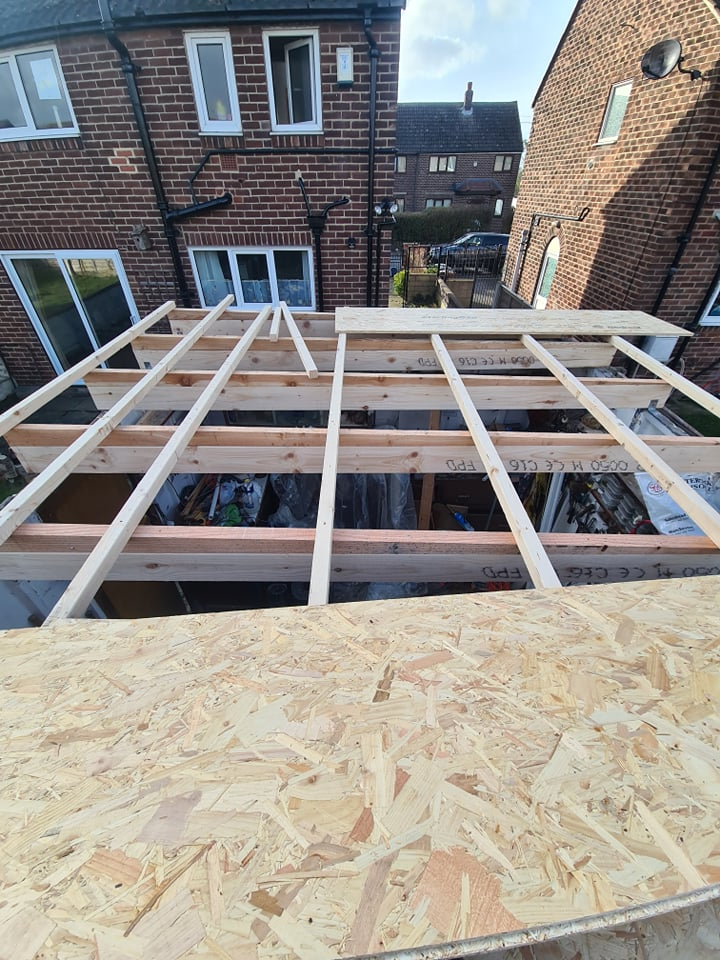 Garage Roof Replacement in Leeds